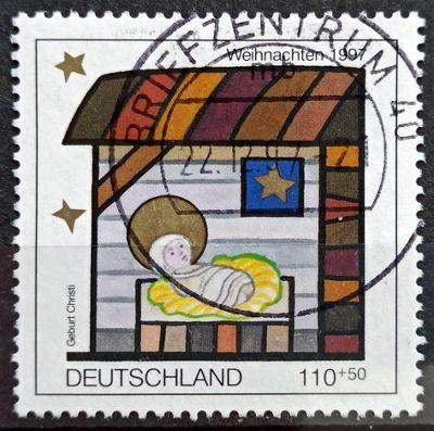 DEUTSCHLAND: MiNr.1960 Nativity 110pf+50pf, Semi-Postal Stamp 1997