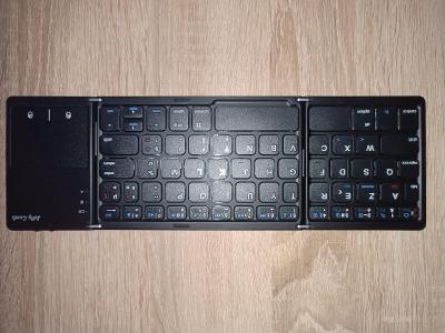 Skládací bluetooth klávesnice