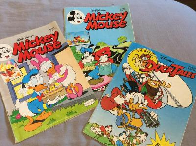 3 komiksy z r. 1991