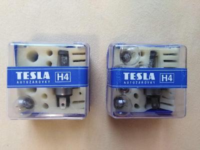 Autožárovky Tesla H4 12V 60/55W, 2 kusy
