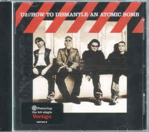 U2 -   How To Dismantle An Atomic Bomb CD  2004