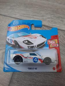 FORD GT-40 HOT WHEELS
