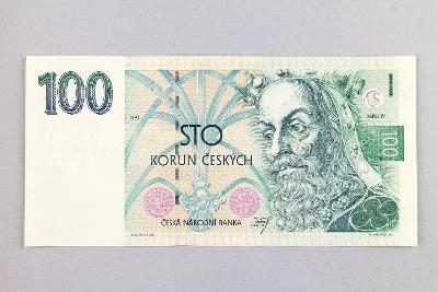 ČESKÁ REPUBLIKA // 100 Kč 1993 A 63 / neperf. /87 krásná!
