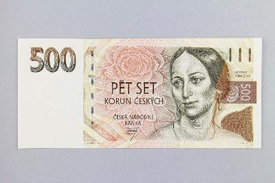 ČESKÁ REPUBLIKA // 500 Kč 1993 A 28 / neperf. /89 UNC