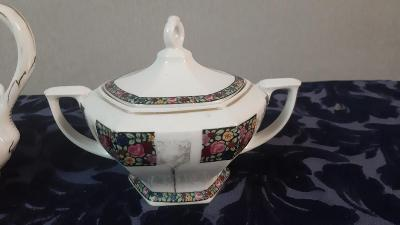 Starožitná porcelánová cukřenka