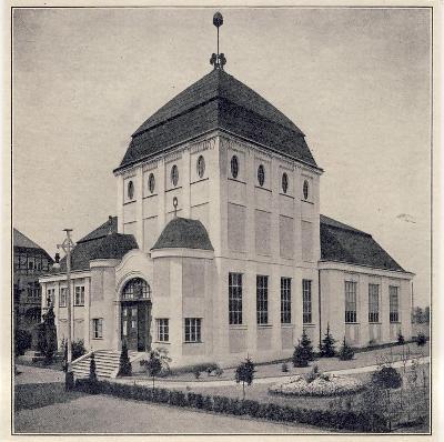 """Liberec - výstava 1906 - """"Reichenbergerhaus"""""""