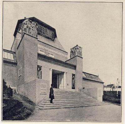 "Liberec - výstava 1906 - ""Kunstgebäude"""