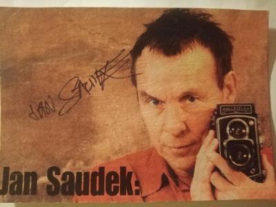 Autogram Jan SAUDEK ...