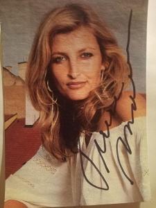 Autogramy ...  Tereza MAXOVÁ .....
