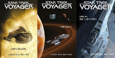 NOVÉ KNIHY Edice Star Trek: Voyager běžně 940,-