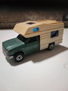 Starší Kovové Autíčko Majorette Camping Car