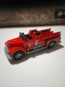 Starší Kovové Autíčko Matchbox Seagrave Fire Engine