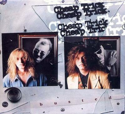 CD Cheap Trick - Busted (1990) Japan