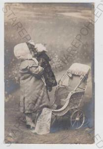 Děti - foto, dítě, panenka, hračka, kočárek