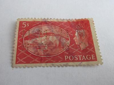 Prodávám známky Velká Británie 1951, Král Jiří VI. a Dover-Bílý útes