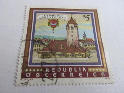 Prodávám známky Rakousko 1986, Korneuburg-850 let města