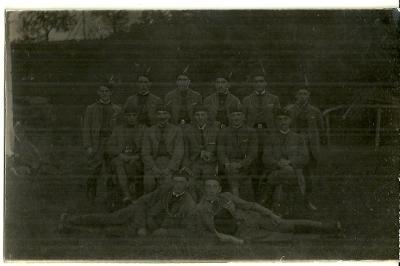 Foto Sokolstvo, upomínka z pohřbu r.1927
