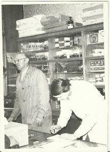 Foto v obchodě, pultový prodej
