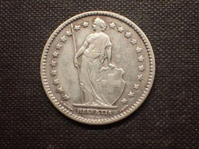 Švýcarsko 1 Frank 1913