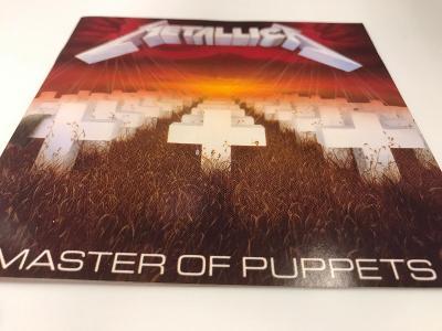 METALLICA: MASTER OF PUPPETS 1986, REEDICE Z ROKU 1989, TOP STAV !!!
