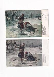 Sada Vánočních pohlednic, Báseň
