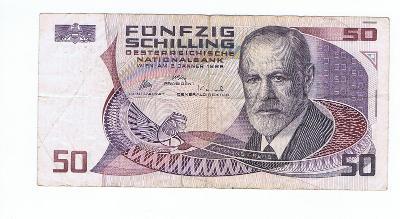 Rakousko 50 schilling 1986