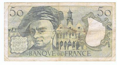 Francouzský frank 50 - 1991