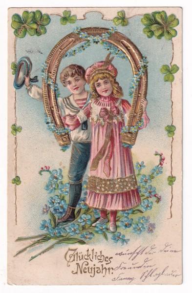 Tlačené pohlednice, Čtyřlístek