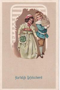 Tlačené pohlednice, Čtyřlístek štěstí