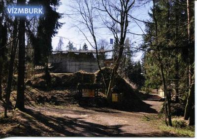 Vízmburk (Turnov), zřícenina hradu