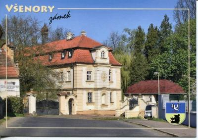 Všenory (Praha-západ), zámek, erb