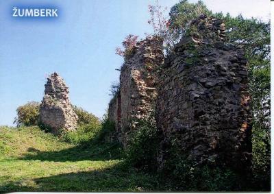 Žumberk (Chrudim), zřícenina hradu