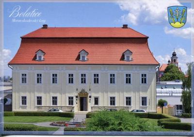 Bolatice (Opava), zámek, erb