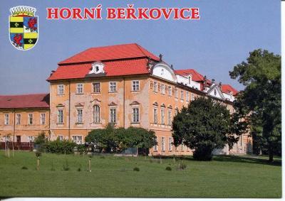 Horní Beřkovice (Litoměřice), zámek, erb