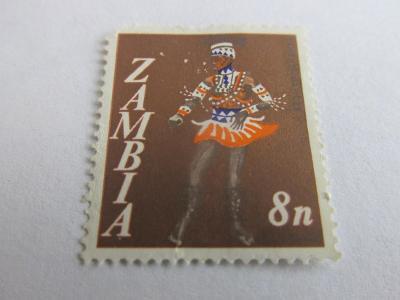 Prodávám známky Zambie 1968, Folklor-Oblečení a tanec