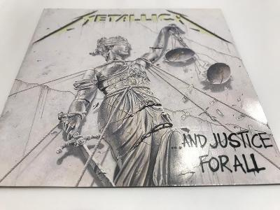 METALLICA:  ...AND JUSTICE FOR ALL 1988, 1.PRESS, TOP STAV !!! AKCE!!!