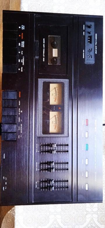 ROTEL RD -20 CASSETTE DECK ,kazety