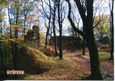 Kyšperk (Teplice), hrad