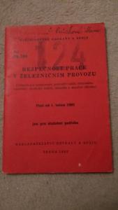 Předpis OP 16e  ČSD  1963