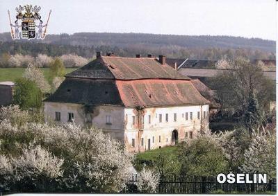 Ošelín (Tachov), zámek, erb