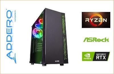 SUPERhráč AMD Ryzen 5 1600 3.6GHz RTX3060-12G 16GB 1TB 550W Win10