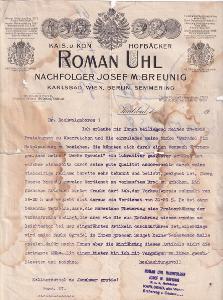 Účet pekař Roman Uhl, Karlovy Vary