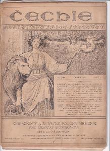 Kniha Čechie, ročník I., Praha, 1902