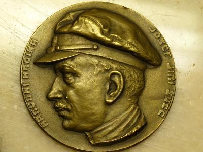 Plaketa narodny hrdina Jozef Jiri Svec legii v Rusku.
