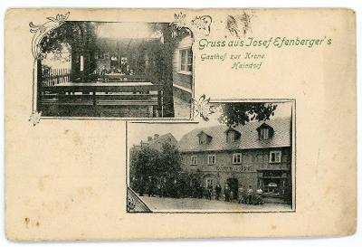 Hejnice, Haindorf, Frýdlant, Jizerské h., hostinec, cca 1900, DA