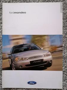 FORD MONDEO - 2000 -  prospekt