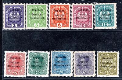 Předběžné/Rakousko, Knittelfeld  - Mi. místní vydání (1918), ko/107/18