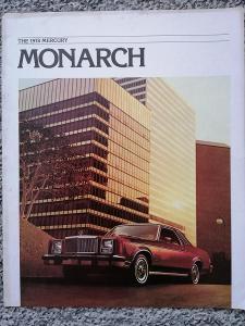 MERCURY MONARCH - 1978  -  prospekt