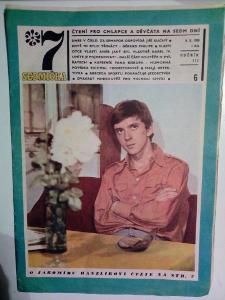 Časopis, Sedmička, č. 6/1969, zachovalý stav