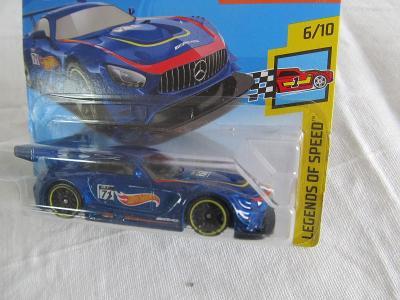 HOT WHEELS AUTÍČKO 16 MERCEDES AMG GT 3